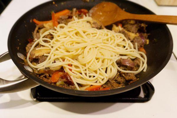 Bulgogi Spaghetti Aglio Olio