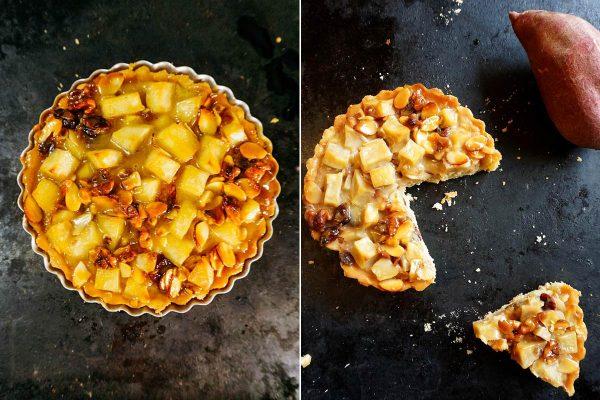korean sweet potato tart (goguma tart)